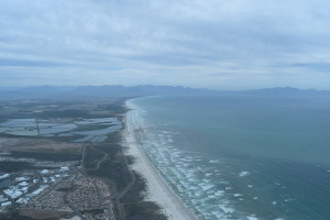Beaches via helicopter ride