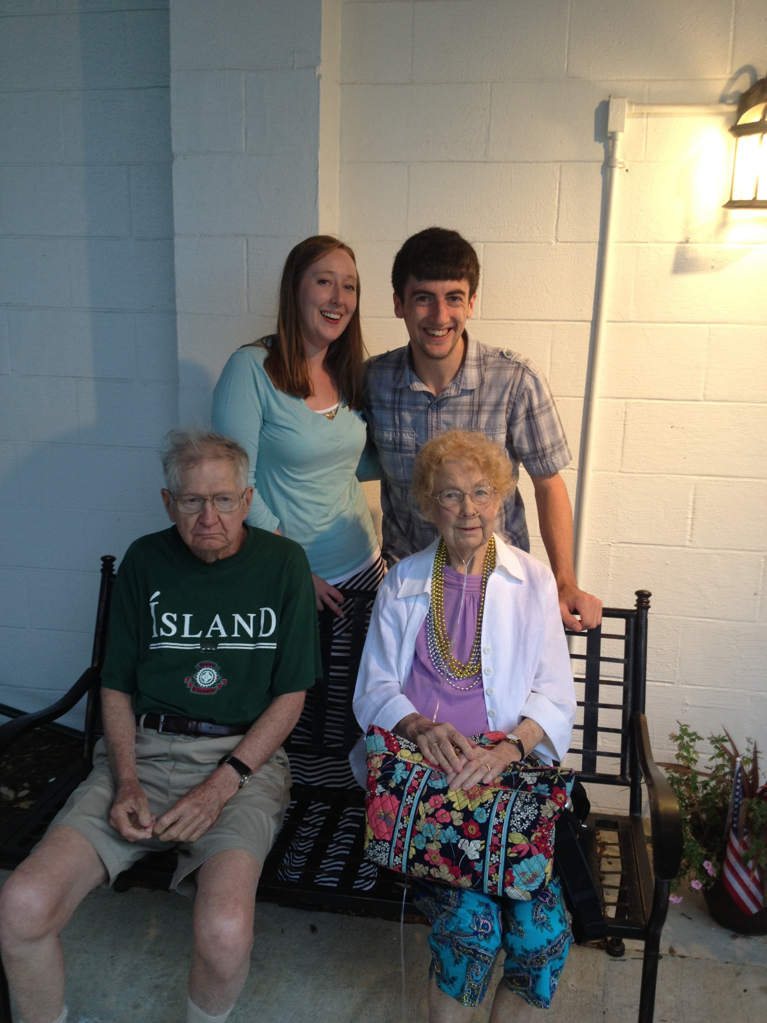 Billy, Nana, Laurel, and myself Emerald Isle, NC June 2013